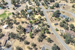 Ballfield and Slice of property driveway