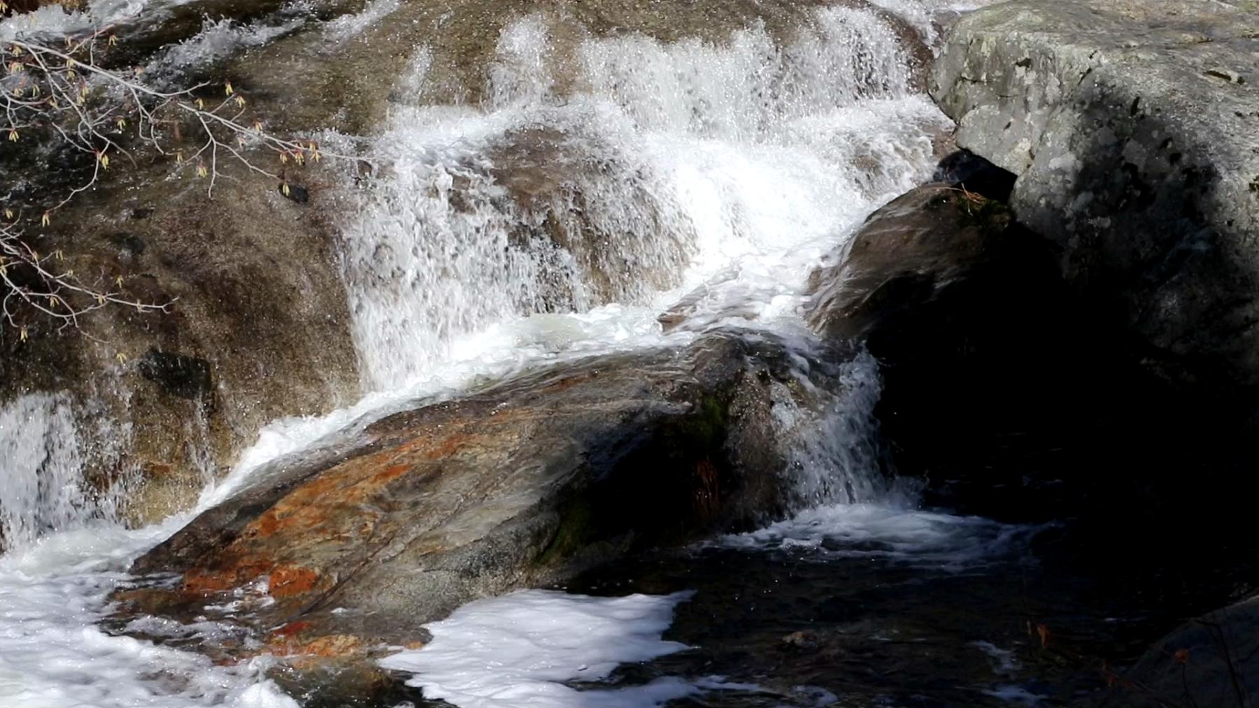 Following-the-falls